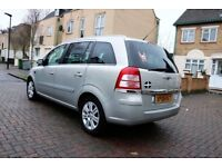 VAUXHALL ZAFIRA 1.9 CDTI DESIGN[120] AUTOMATIC 5 DR [EURO 4] FSH HPI CLEAR EXCELLENT CONDITION