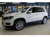 VW Tiguan SPORT TDI BLUEMOTION TECHNOLOGY [DAB RADIO / PARK ASSIST /18''s] (bright white) 2012