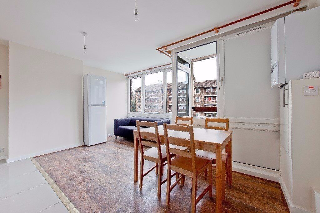 CLICK HERE BRAND NEW THROUGHOUT 4 BED 2 BATH IN LONDON BRIDGE SE1 OFFERED FURNISHED IDEAL SHARERS