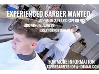 Full time barber
