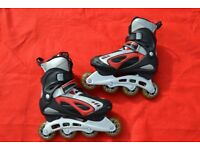 ROCES - SK8 - aebc7 -76mm Wheel-INLINE ROLLER BLADES. - UK size 5 - EU size 39 VERY GOOD CONDITION