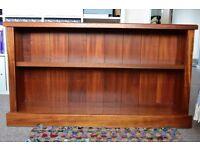 Solid Teak Bookcase | Great Condition | 122cm L x 33.5cm W x 68.5cm H