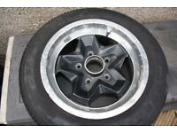 porsche cookie cutters alloy wheel with tyre 911-361-023-54 7j X 15