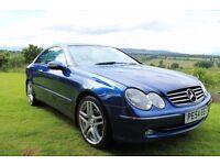 Mercedes CLK 2.7 Diesel Avantgarde 54 Plate
