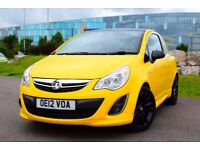 2012 VAUXHALL CORSA LIMITED EDITION 1.2*FULL HISTORY*3 MONTHS WARRANTY*GOOD SPEC*NEW MOT & SERVICE*