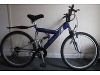I am selling used mountain bike with all its equipments