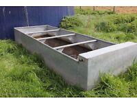 Galvanised Water Tank/Trough