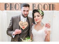 Starting from £120 Photo Booth hire for weddings and parties tailored to your party theme!
