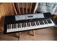 Yamaha YPT-200 Portatone Electronic Keyboard 61 Key with stand.