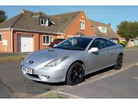 Toyota Celica with 12 months MOT