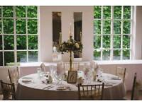 Gold Candelabras Wedding Centrepieces