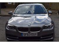 BMW 5 Series 520d 63 Plate 2013 DIESEL AUTOMATIC 5 DOOR SILVER