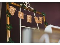 Wedding Cards rustic sign