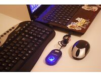 Technika wireless keyboard and optical mouse for bargain !!