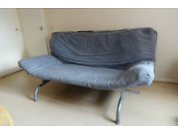 Metal frame Sofa Double bed
