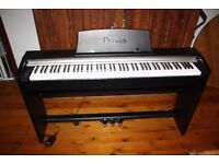 Casio Privia PX-730 Piano Full Size Keyboard (Weighted/hammer Action Keys)
