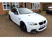 2007 BMW M3 4.0 V8 COUPE WHITE, CARBON PACK, STUNNING TOP SPEC, EVERY EXTRA
