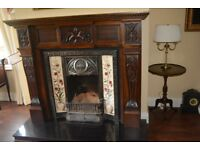 Lovely Tall Antique style Fireplace