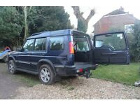 Landrover Discovery TD5 Top specification