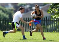 Tag Rugby - A Fun, Social Way to Keep Fit - Men and Women Wanted