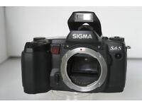Sigma SA-5 film camera - never used.