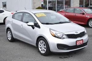 2015 Kia Rio LX+ Manual | Heated Seats | Bluetooth