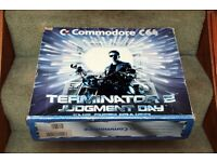 Commodore 64 Terminator Two Judgement Day Edition. Boxed and unused from New.