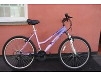 Ladies Mountain Bike 18 Inch Frame 18 Speed Gears Brand New Brake Cables Can Deliver If Local
