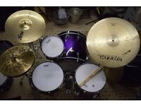 Pearl Masters MCX shell set with cymbal/tom stand