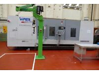 BSA CHURCHILL VIPER VT40A x 3000mm SLANT BED 3 AXIS CNC LATHE WITH C AXIS AND MILLING