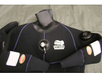 Ladies OTTER DRY SUIT (next to new, only used for single afternoon) - Size Small (rrp £850)