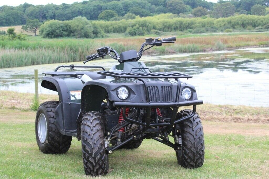 NuForce 150cc Quad Bike - Stunning Condition, Barely Used!   in Seaview,  Isle of Wight   Gumtree