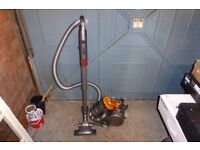 """DYSON DC22 """"STOWAWAY"""" ALL FLOORS CYLINDER VACUUM CLEANER WITH TELESCOPE"""