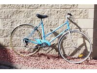 Classic Raleigh Estelle in sky blue location Polwarth Bike bicycle only £54