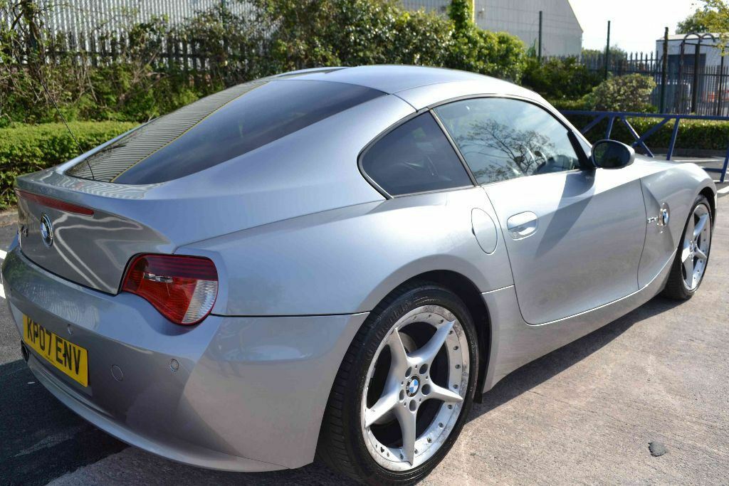 2007 Bmw Z4 3 0 Si Sport Coupe 6 Speed Silver Grey