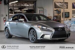 2014 Lexus IS 350 *RÉSERVÉ* F SPORT 3 * AWD * GPS *