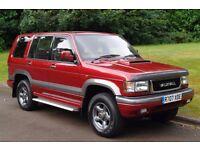 Vauxhall Monterey (Isuzu Trooper) 3.1 Turbo Diesel Intercooler. 7 Seats. Low Miles. Superb example.