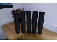Home 5:1 Cinema, Keff speakers. Plus Vector SubWoofer.