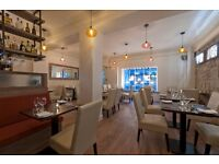 Experienced full and part time front of house team members to join busy city centre restaurant