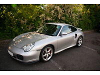 PORSCHE 911 (996) TURBO, MANUAL, 66K MILES, SPORTS BLACK INTERIOR