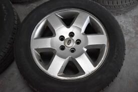 Land Rover Discovery 3 19inch genuine alloy wheels