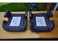Booster Seat groups II and III suitable from 15 to 36 kg (2 available)
