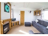 Three berth, two bathroom caravan to rent on Park resorts at Heacham beach Norfolk.