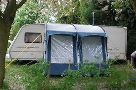 Lightweight Caravan Awning