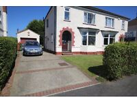 3 BEDROOM SEMI DETACHED HOUSE. FULL GAS CENTRAL HEATING & DOUBLE GLAZING EXCELLENT LOCATION.NO CHAIN