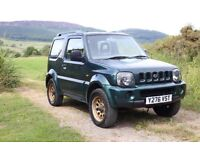 2001 Suzuki Jimny - Low Mileage - Spares or Repairs - Requires Welding