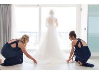 Floor-length wedding veil - excellent condition