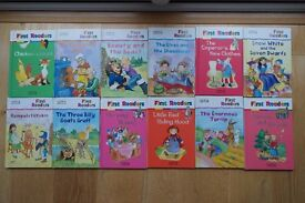 12 Mark and Spencer First Reader Story Books