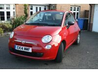 Striking Red Fiat 500 1.2 Pop with Start Stop technology 3dr - 1 year MOT, great small town car