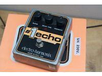 Electro Harmonix #1 Digital Delay Guitar Effects Pedal